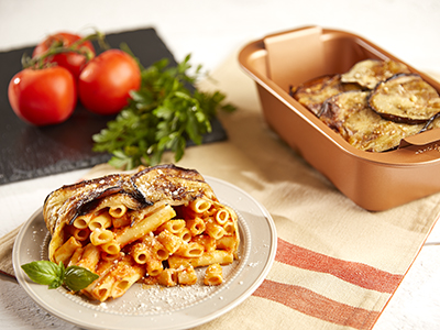 Eggplant Wrapped Baked Ziti Recipes