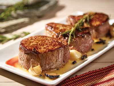 Garlic Rosemary Steaks Recipes
