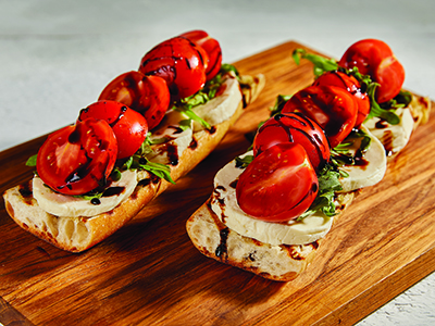 Grilled Caprese Bruschetta Recipes