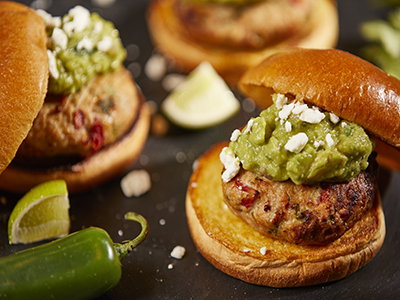 Turkey Guacamole Burger Recipes