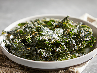 French Onion Kale Chips Recipes