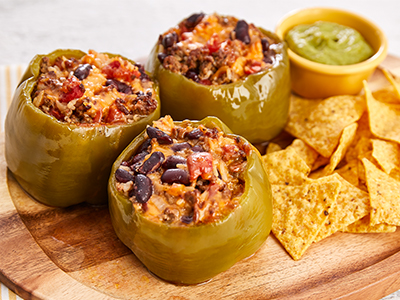 Chili Stuffed Peppers Tristar Recipes