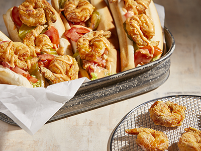 Shrimp Po' Boy Recipes