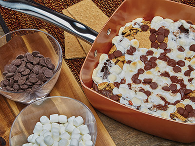 Smores Cake Recipes