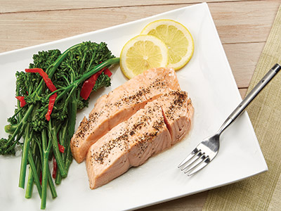 Steamed Salmon Recipes