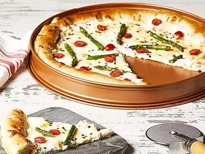 White Pie with Asparagus Recipes