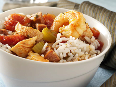 Creole-Style Stewed Shrimp & Andouille Recipes
