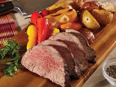 Oven-Roasted Beef Tenderloin
