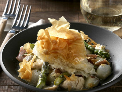 Phyllo Chicken Pot Pie Recipes