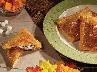 Candied Yam and Marshmallow Hand Pies  Recipes