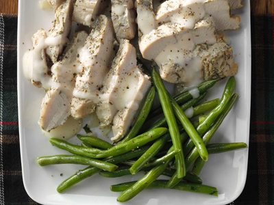Turkey in Cream Sauce Recipes