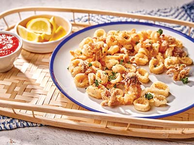 Fried Calamari  Recipes