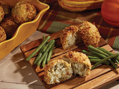 Green Bean Casserole Riceballs Recipes