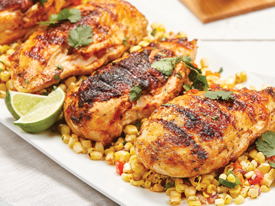Grilled Chicken with Corn Salad Recipes