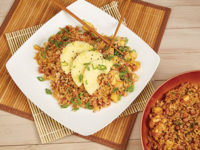 Ham and Pineapple Fried Rice Recipes