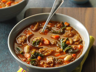 Italian Sausage & Kale Soup Recipes