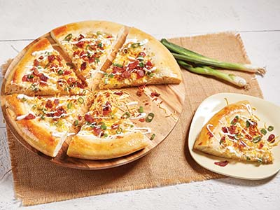 Loaded Potato Pizza Recipes