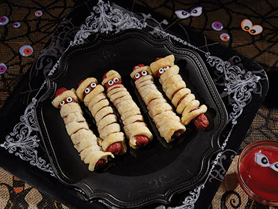 Mummy Hot Dogs Recipes