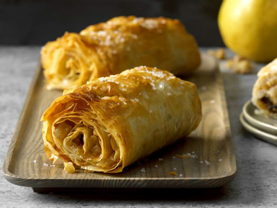 Fig Pear Strudels