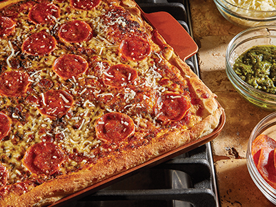 Pepperoni Pesto Pizza Recipes