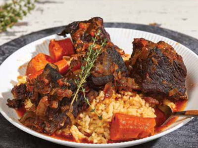 Spice-Rubbed Short Ribs
