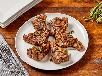 Grilled Loin Lamb Chops