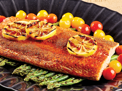Roasted Salmon & Vegetables Recipes