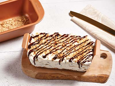 Copper Chef Baked Ice Cream Cake Recipe