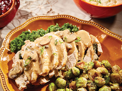 Stuffed Turkey Breast with Pan Sauce Recipes