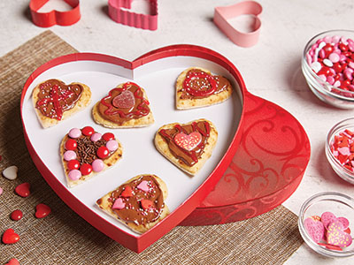 Valentine's Day Dessert Pizza Recipes