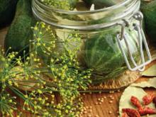 Pressure Cooker Recipes-Dill Pickles