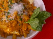 Penne in Meat Sauce