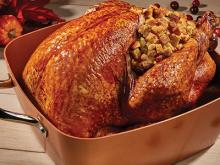 Roasted Holiday Turkey & Stuffing
