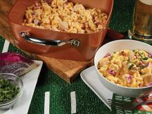 Copper Chef Recipes-Beer Brat Mac and Cheese