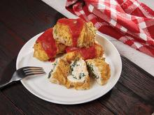 Copper Crisper Recipes-Chicken Florentine Rollatine