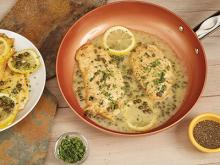 Copper Chef Recipes-Chicken Piccata