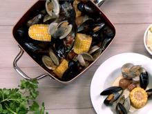 Copper Chef Recipes-Clam Bake