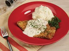 Air Fryer Recipes-Country Fried Steak