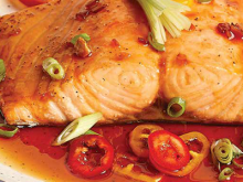 Honey-Roasted Salmon