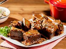 Spicy Short Ribs Smothered with Red Gravy